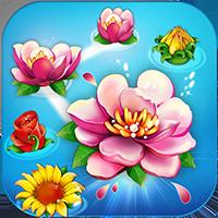 Flower Garden: Connect Mania-Logo